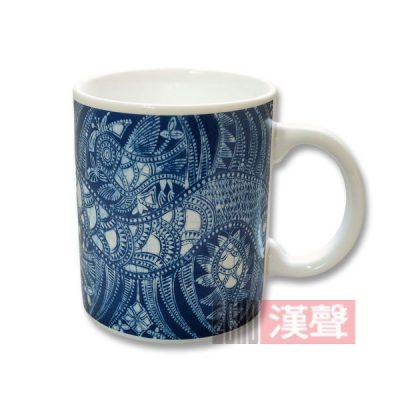 貴州蠟染杯—鳥龍杯